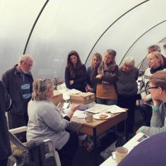 Botanical illustration Spring course, Trengwainton