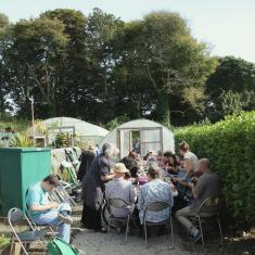 Shallal Workshop at Trengwainton