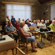 Film screening and presentation at Landithy, Madron