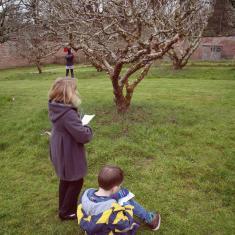 Trythall School, Infants workshop, Trengwainton Garden