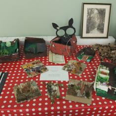 Newlyn School and project workshops displays