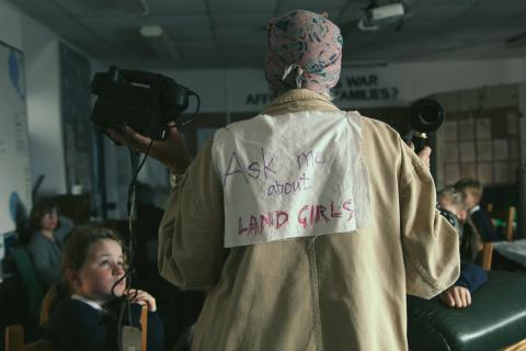 Angie Butler's Women's Land Army workshop