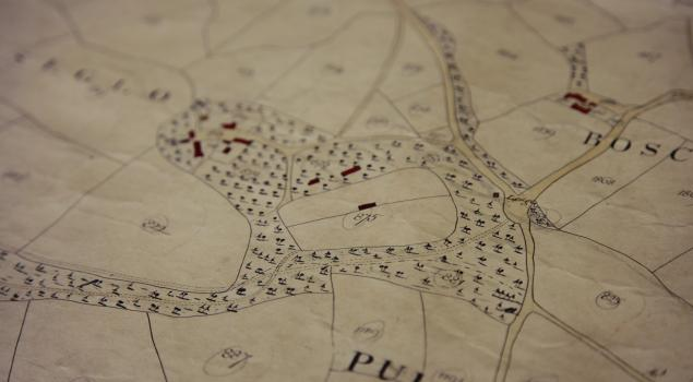 1840 Tithe map