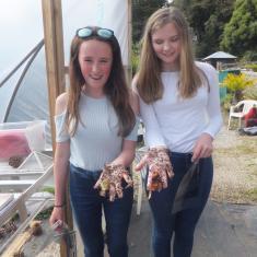 Mount's Bay Arts Awards students at Trengwainton. Photo © Jane Bailey