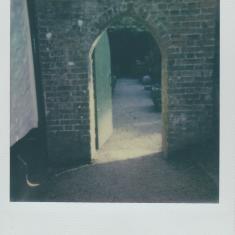 Archway to enter walled garden, Trengwainton